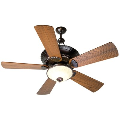 "Craftmade 54"" Chamberlain 5 Blade Ceiling Fan with Remote Control"