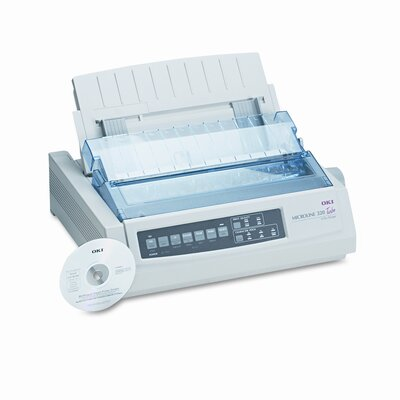 OKI Microline 320 Turbo Dot Matrix Impact Printer