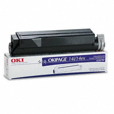 OKI 41331701 Toner Cartridge, High-Yield, Black