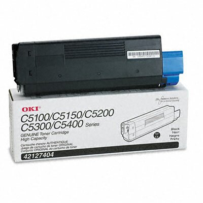 OKI Toner Cartridge (Type C6), 5000 Page-Yield