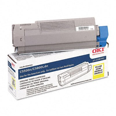 OKI Toner Cartridge (Type C8), 2000 Page-Yield