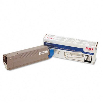 OKI 43487736 Laser Cartridge, Black