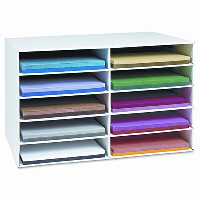 Pacon Corporation Classroom Construction Paper Storage