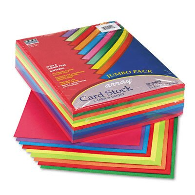 Pacon Corporation Array Card Stock, 250 Sheets/Pack