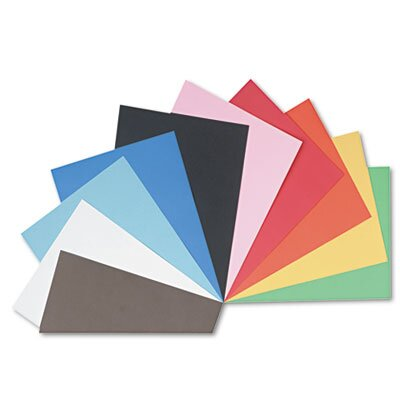 Pacon Corporation Tru-Ray Construction Paper, Sulphite, 24 x 36, Assorted, 50 Sheets