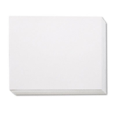 Pacon Corporation White Four-Ply Poster Board, 28 x 22, 100 per Carton