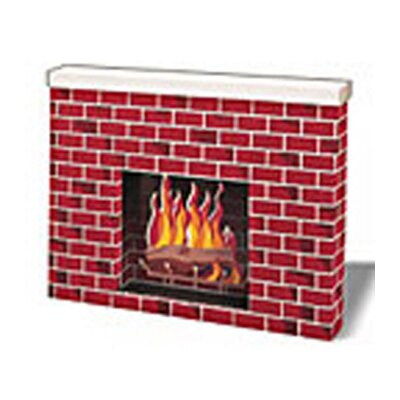 Pacon Corporation Corrugated Fireplace
