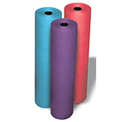 Pacon Corporation Rainbow Kraft Roll 100ft Brite Blue