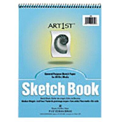 Pacon Corporation Art1st Sketch Book 9x12 30 Sht Wht