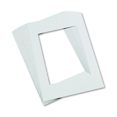 Pacon Corporation Mat Frames 9 X 12 White