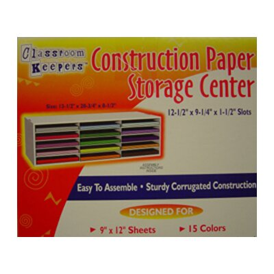 Pacon Corporation Construction Paper Storage