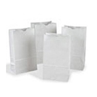 Pacon Corporation Rainbow Bags 50 White 8x14