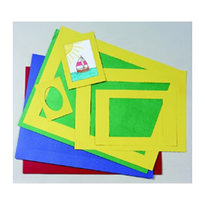 Pacon Corporation Pre-cut Mat Frames 60 Assorted