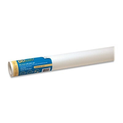 Pacon Corporation Dry-Erase Rolls, Adhesive, 18&quot;x20', 6/RL, White