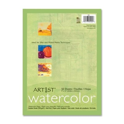 Pacon Corporation Watercolor Paper (50 Per pack)