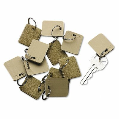 PM Company Securit Extra Blank Velcro Tags, 12/Pack