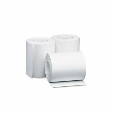 Single-Ply Thermal Cash Register / Pos Roll, 4-3/8