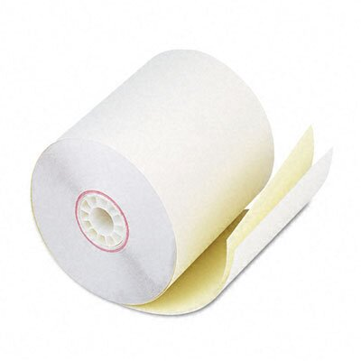 PM Company Two-Ply Receipt Roll, 50/Carton