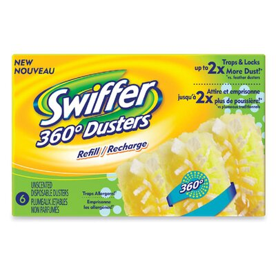 Procter & Gamble Commercial Swiffer Dusters Refills, 6 Count, Unscented