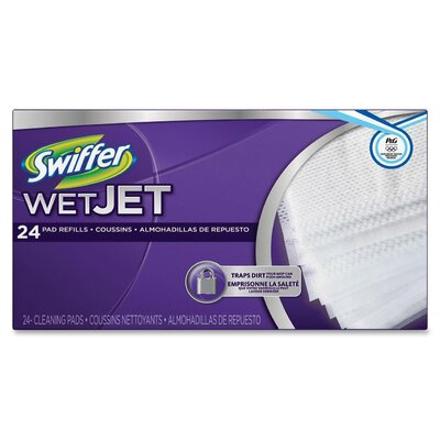Procter & Gamble Commercial Swiffer Wet Jet Pad Refill (24 Pack)