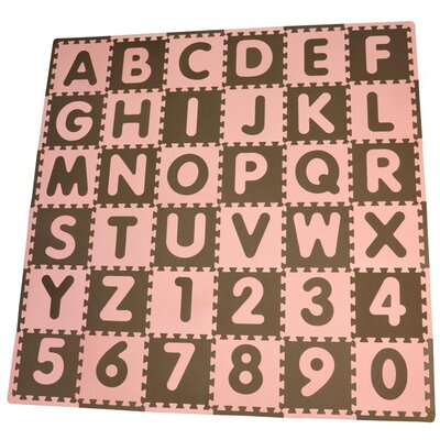 Tadpoles Tadpoles 36 Piece ABC Playmat Set
