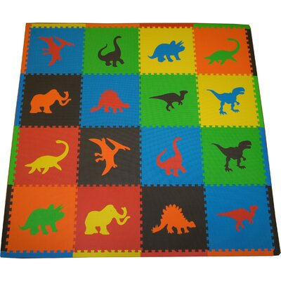 Dino Playmat Set