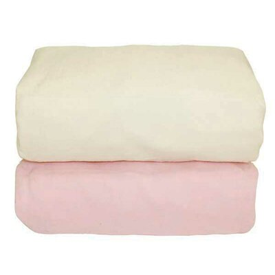 Tadpoles Arlington Organic Flannel Fitted Crib Sheet (Set of 2)