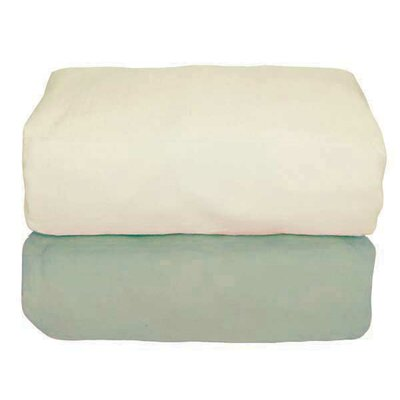 Tadpoles Arlington Organic Flannel Fitted Crib Sheet