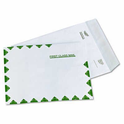 Quality Park Products Survivor Leather Tyvek Mailer, 9 X 12, 100/Box