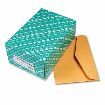 Quality Park Products Open Side Booklet Envelope, Traditional, 15 X 10, 100/Box