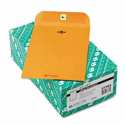 Quality Park Products Clasp Envelope, 6 1/2 X 9 1/2, 32Lb, 100/Box