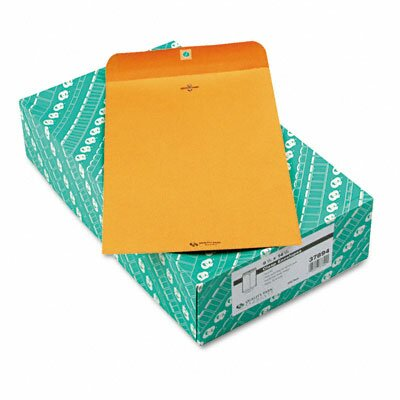 Quality Park Products Clasp Envelope, 9 1/4 x 14 1/2, 28lb, Light Brown, 100/box
