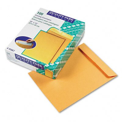 Quality Park Products Catalog Envelope, 10 X 13, 100/Box
