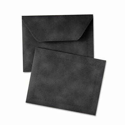 "Quality Park Products Document Carrier, Letter, 2"" Expansion, Black, 1/ea"