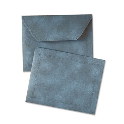 "Quality Park Products Document Carrier, 2"" Expansion, Letter, Blue, 1/ea"