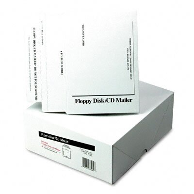 Quality Park Products Recycled Foam-Lined Multimedia Mailer, Contemporary, 8 1/2 x 6, White, 25/box