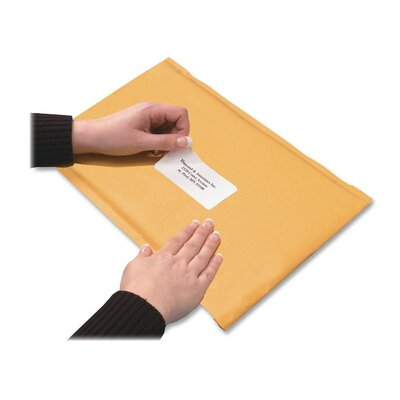 Quality Park Products Redi-Strip Shipping Envelope, Paper Stock, 10 X 15, Light Brown, 10/Box