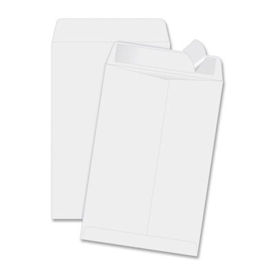 Quality Park Products Redi Strip Plain Envelope (100 Per Box)