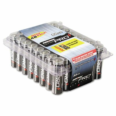 Rayovac® Ultra Pro AA Alkaline Battery, 48/Pack
