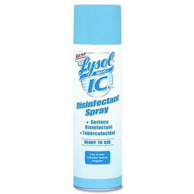 Lysol Brand I.C. Disinfectant Spray, 12 19 Oz Aerosol Cans/Carton