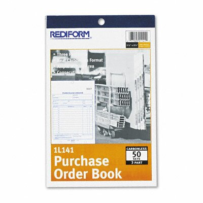 Rediform Office Products Purchase Order Book, 50-Sets/Book