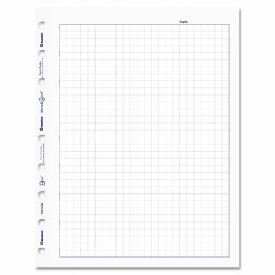 Rediform Office Products Blueline Miraclebind Quad Ruled Refill Sheets