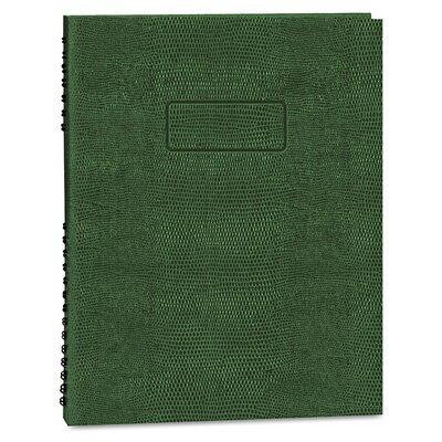 Blueline® Exec Wirebound Notebook, College/Margin Rule, 8-1/2x11, 200 Sheets
