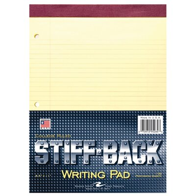 Roaring Spring Paper Products 100 Sheet Stiff-Back Writing Pad