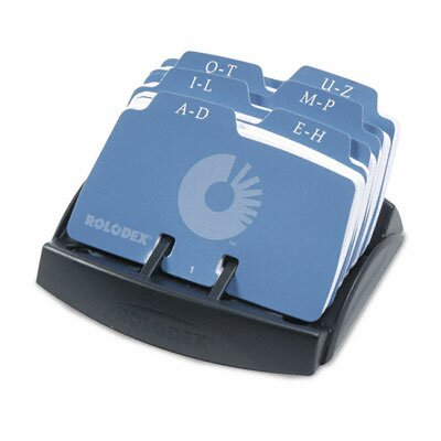 Rolodex Corporation Petite Open Tray Card File Holds