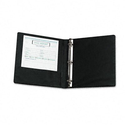 Samsill Corporation Heavy-Duty Locking Round Ring Binder, 8-1/2 x 11, 1in Capacity