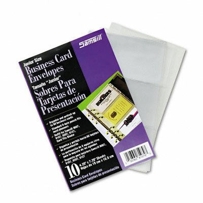 Samsill Corporation Business Card Binder Refill Pages, 10 Pages/pack