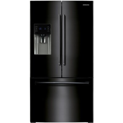 Samsung Energy Star 26 Cu. Ft. French Door Refrigerator with External Water and Ice Dispenser