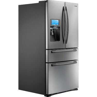"Samsung 28 Cu. Ft. 4-Door Refrigerator with 8"" LCD Digital Display"