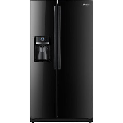 Energy Star 26 Cu. Ft. Side-by-Side Refrigerator with External Water & Ice Dispenser